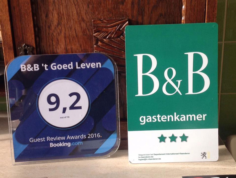 booking.com award 't goed leven